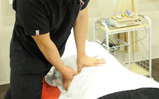 腰痛・ギックリ腰の治療内容・施術方針イメージ